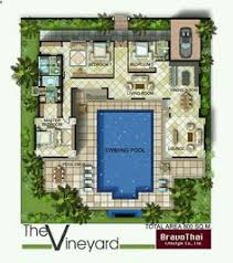 U Shaped House Plans With Pool In Middle H Shaped House Plans With Pool In The Middle Pg3 Courtyard