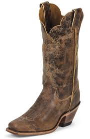 justin womens bent rail 12 square toe cowboy boots road