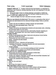 4 best images of formal observation lesson plan template