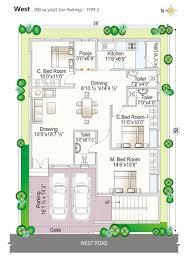 Full House Design Studio Hyderabad by West Facing Duplex House Plans Modern 30x50 3d Soiaya