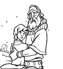 coloring page abraham and sarah abraham and sarah coloring page and coloring page showy pages