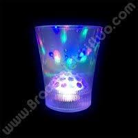 bicchieri fluorescenti bicchieri fluo luminosi braccialettifluo