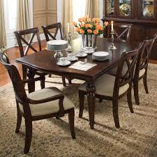 keswick refectory table and chair set by kincaid furniture