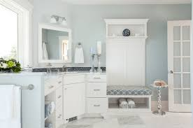 White On White Bathroom by 10 Ways To Add Color Into Your Bathroom Design Freshome Com