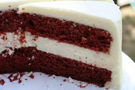 bake stacked red velvet cheesecake bake eat and grow