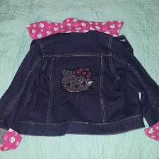 kitty kitty jean jacket u0027s closet poshmark