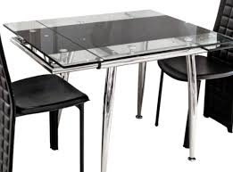 table sweet extendable glass dining room sets prominent glass
