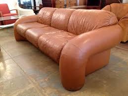 directional 70 u0027s leather sofa at 1stdibs
