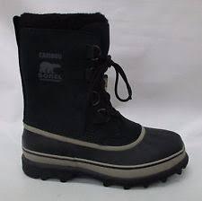 s sorel caribou boots size 9 sorel caribou womens size 9 black boots uk 8 eu 42 ebay