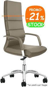 bureau taupe fauteuil de bureau mecanisme basculant decentre direction design