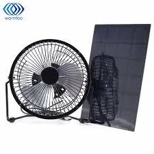 usb powered car fan black solar panel powered usb 5w iron fan 8inch ventilation