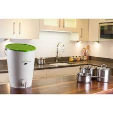 composteur de cuisine kit composter 15 l garantia palette gamm vert