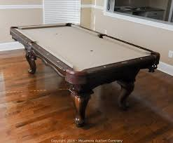 slate base pool table mclemore auction company auction vehicles harley davidson