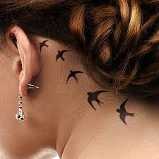 tattoos behind ear tattoo collections