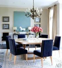 Blue Upholstered Dining Chairs Blue Dining Room Navy Blue Dining Chairs Remarkable Design