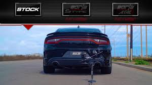 Dodge Challenger Exhaust Systems - borla spruces up the charger srt hellcat with loud exhaust systems