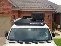 Baja Rack Fj Cruiser Ladder by New Eo2 Mounting System Rooftop Camping Storage Toyota Fj