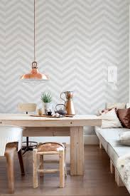 dining room wall paper grey chevron stripe wallpaper