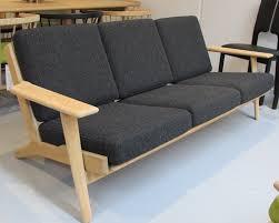 hans wegner plank sofa hans wegner original oak plank sofa model ge290 vintage sofa in