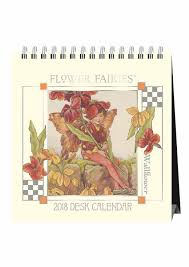 2018 easel desk calendar flower fairies easel calendar 2018 calendar club uk