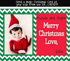 cindy emerson photography elf on a shelf christmas card