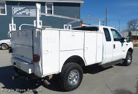Ford F250 Utility Truck - 2002 ford f250 super duty supercab utility bed pickup truck