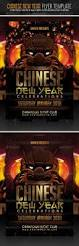 chinese new year flyer template chinese new year flyers and