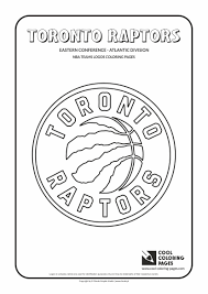 toronto raptors u2013 nba basketball teams logos coloring pages cool