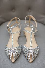 wedding shoes glitter 17 best ideas about flat bridal shoes on bridal flats