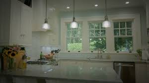 Lighting Scandinavian Kitchen With White Cabinet And White