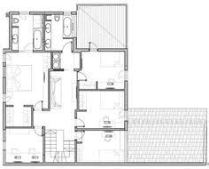 house plan 43091 at familyhomeplans clearwater timber frame floor plan second level house ideas
