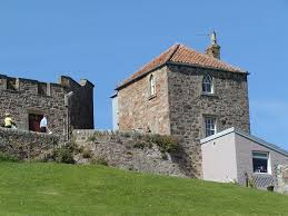 the watch house at crail ocean front tower house with