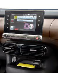 support tablette voiture entre 2 sieges voiture communicante c4 cactus l essentiel du numérique et de la