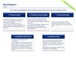 Cost Comparison Analysis Template by Download Now A Simple Marketing Plan Template By Ex Deloitte
