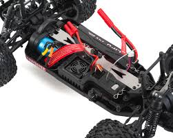 monster jam monster trucks toys blackout xte pro 1 10 4wd electric monster truck silver by
