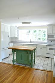 easy kitchen island easy kitchen island makeover