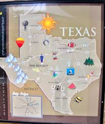 Riverwalk Map Sunshine Nomads San Angelo Texas River Walk On The Concho River