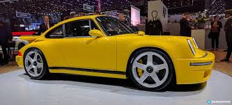 porsche yellow bird ruf revive el mito del ctr yellow bird un matagigantes con