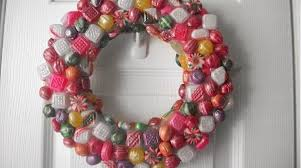 candy wreath how to faux resin candy wreath make