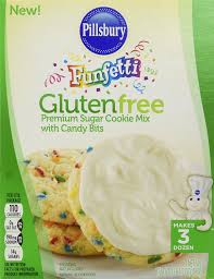 pillsbury halloween sugar cookies amazon com gluten free funfetti premium sugar cookie mix pack