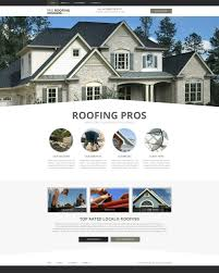roofing website designs roofer lead generation website templates