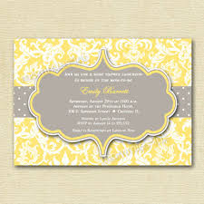 yellow and gray baby shower yellow and gray baby shower invitations reduxsquad