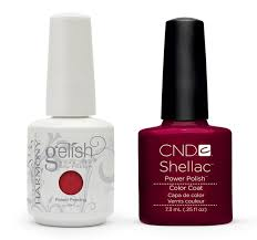 gelish shellac nail polish nails gallery