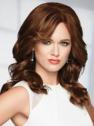 uniwigs halo wavy medium brown hair extentions raquel welch black label human hair wigs collection wigs com
