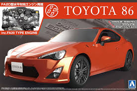 carousel toyota amazon com 86 u002712 engine with 1 24 the best car gt series no 103
