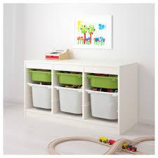 trofast storage combination with boxes white white ikea