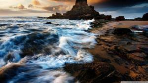 rocky shore wallpapers rocky ocean shore wallpaper nature and landscape wallpaper better