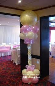 lighted balloon centerpiece balloons pinterest balloon