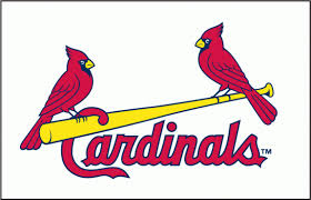 birds on a bat the evolution of the cardinals franchise logo