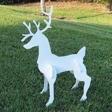 best 25 outdoor reindeer decorations ideas on pinterest